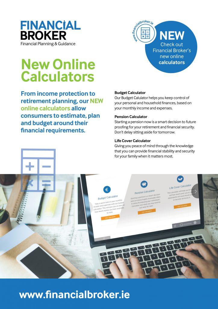 new online consumer calculators brokers ireland